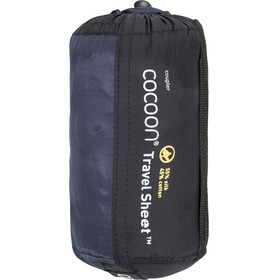 Cocoon TravelSheet Silk/Egyptian Cotton Coupler Tuareg